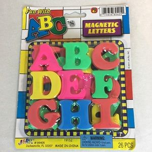 Other - Fun with ABC magnetic letters 26pcs
